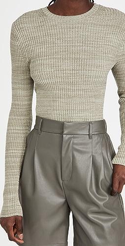 Vince - Marled Rib Crew Sweater