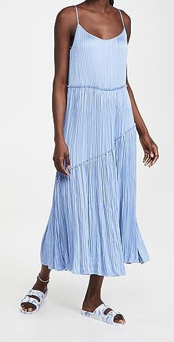 Vince - Tiered Asymmetric Dress