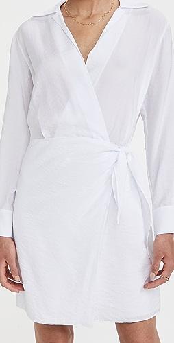 Vince - 裹身衬衣连衣裙