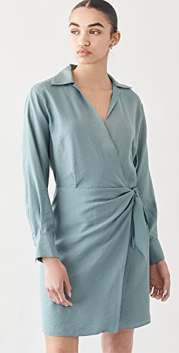 Vince - Wrap Shirt Dress