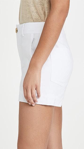 Vince Casual Linen Shorts