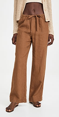 Vince - Tie Front Pull On Pants