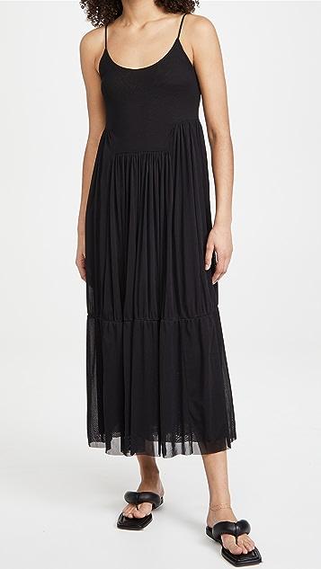 Vince Gathered Cami Dress