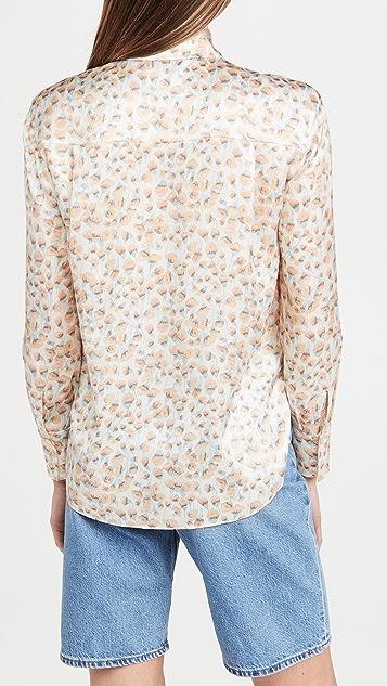 Vince 康乃馨形状衣领女衫