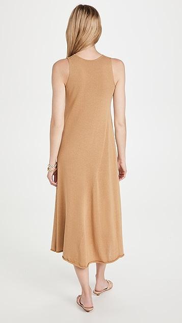 Vince Shirred Tank Dress