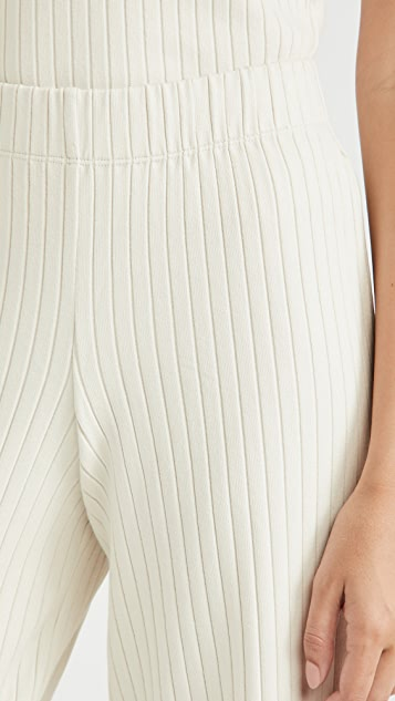 Vince Ribbed Cropped Pants