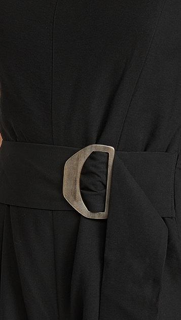Vince 配腰带连身衣