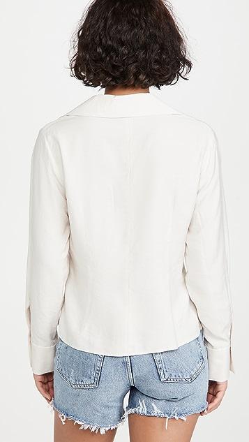 Vince 合身女式衬衫