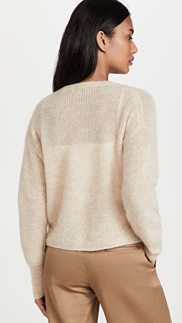 Vince Featherweight Ribbed Cardigan