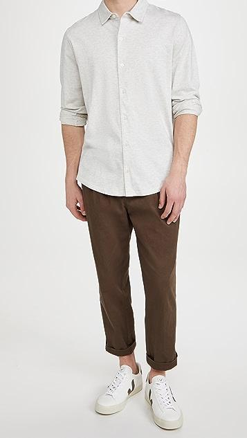 Vince Long Sleeve Button Down Shirt