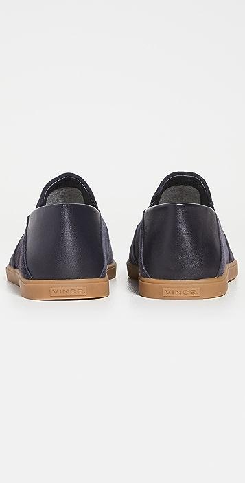 Vince Sanders Soft Back Slip On Sneakers