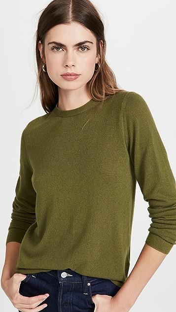 Vince Clean Trim Cashmere Sweater