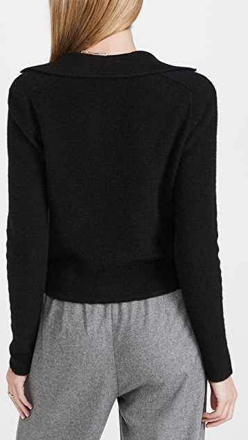 Vince Polo Buttoned Cardigan