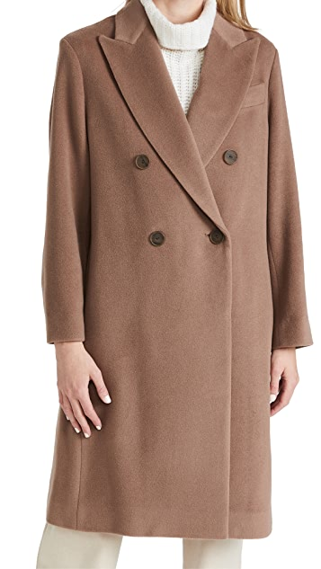 Vince Luxe Wool Car Coat