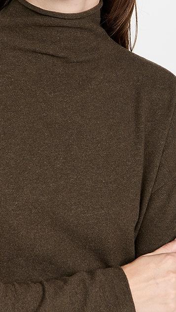 Vince Brushed Funnel Neck Sweater