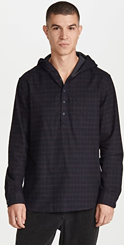 Vince - Highway Plaid Pullover