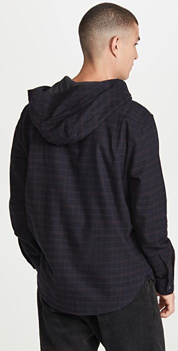 Vince Highway Plaid Pullover
