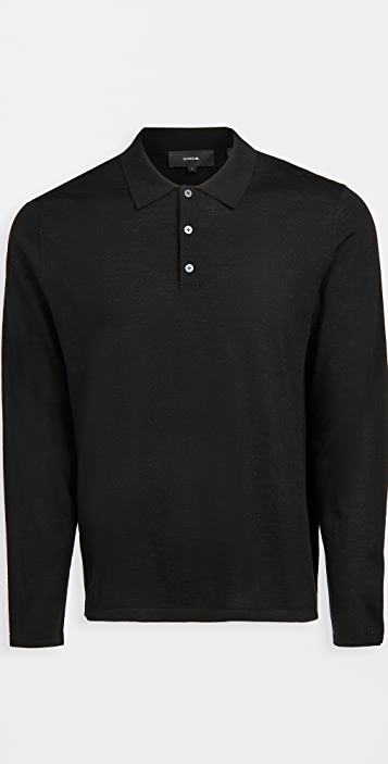 Vince Merino Polo Shirt