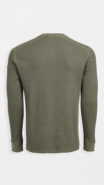 Vince Thermal Crew Sweatshirt
