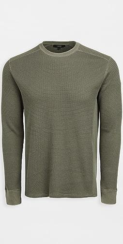 Vince - Thermal Crew Sweatshirt