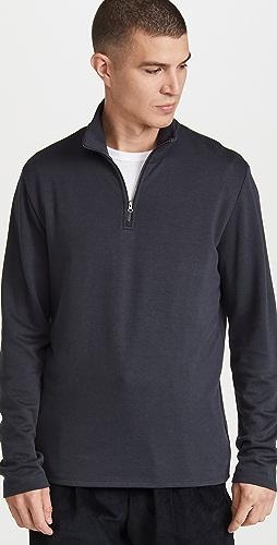 Vince - Cozy Quarter Zip Sweatshirt