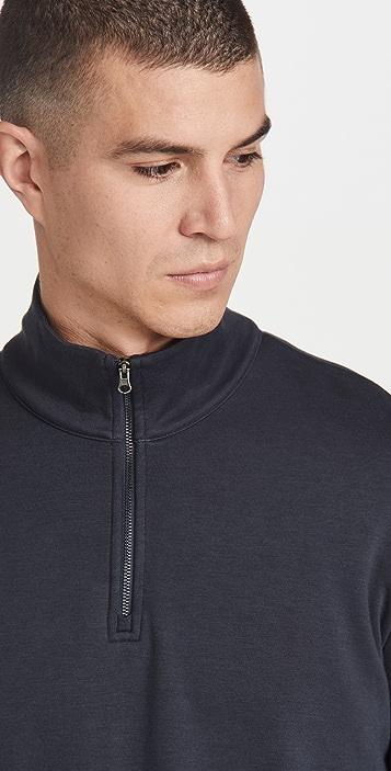 Vince Cozy Quarter Zip Sweatshirt