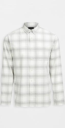 Vince - Corduroy Plaid Shirt