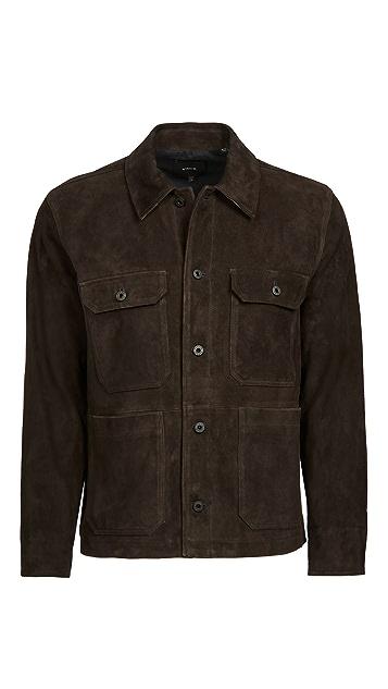 Vince Suede Utility Jacket
