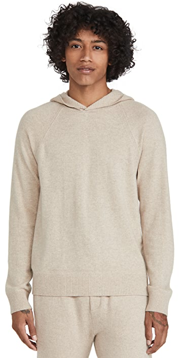 Vince Hooded Pullover