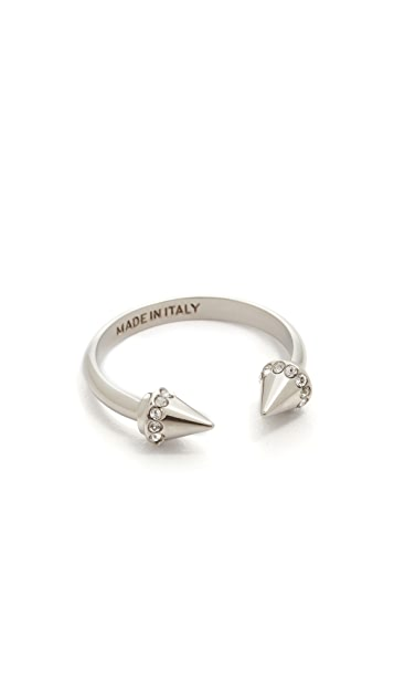 Vita Fede Crystal Ultra Mini Titan Ring