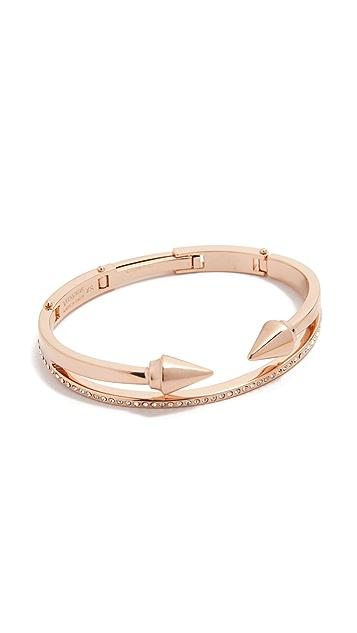 Vita Fede Mini Titan & Crystal Band Bracelet
