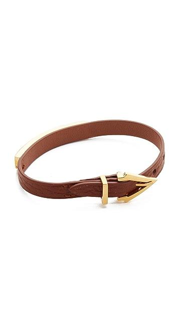 Vita Fede Mini Titan Aria Pelle Bracelet