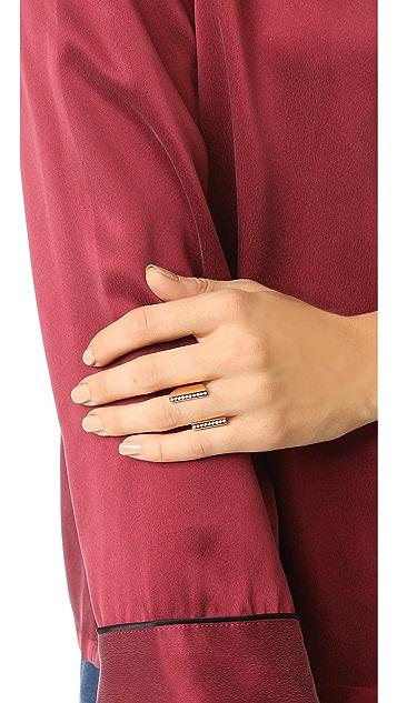Vita Fede Lia Double Crystal Ring