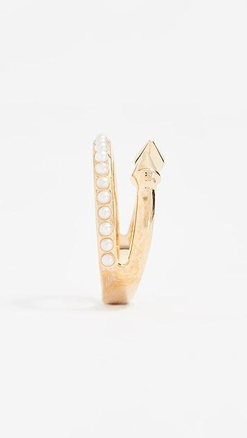 Vita Fede Ultra Mini Titan Freshwater Cultured Pearl Band Ring