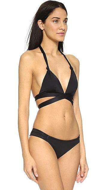 Vitamin A Sirena Wrap Bikini Top