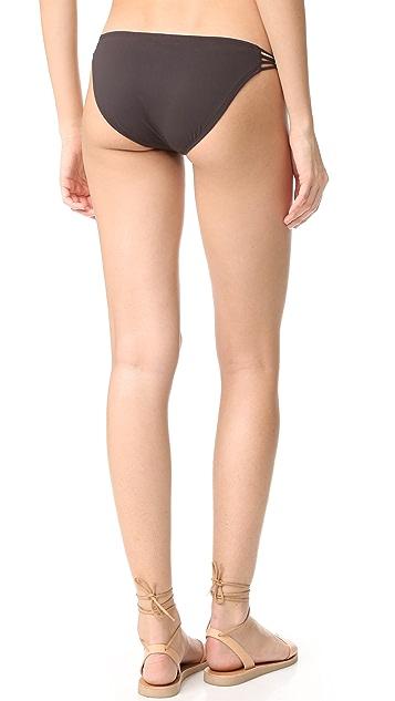 Vitamin A Amber Beaded Hipster Bikini Bottoms