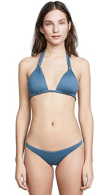 Vitamin A Lily Halter Bikini Top
