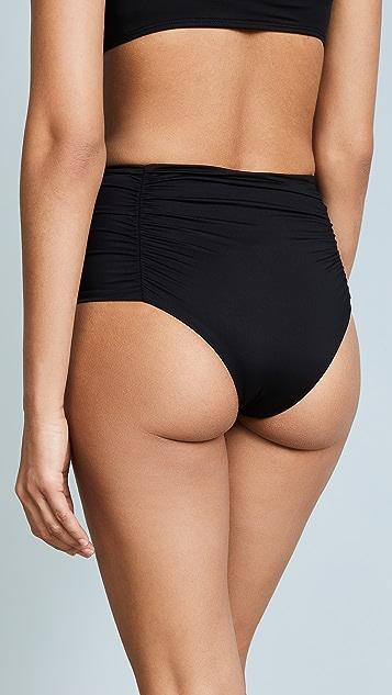 Vitamin A Onyx High Waist Bikini Bottoms