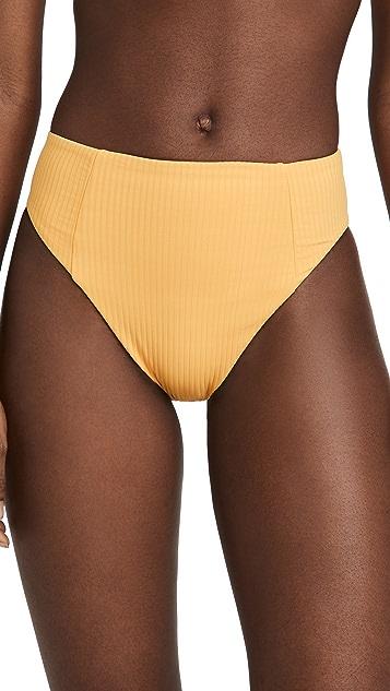 Vitamin A Sienna 高腰泳裤