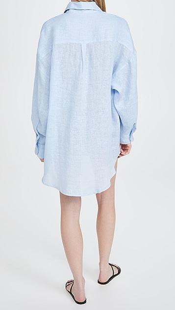 Vitamin A Playa Cover Up Shirtdress