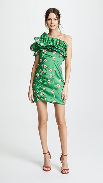 Viva Aviva Sonata Strapless Ruffled Dress
