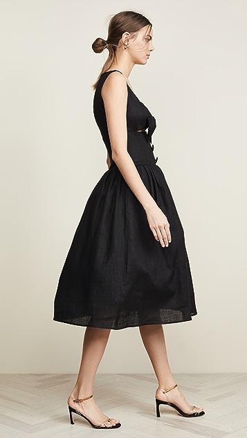 Viva Aviva Waimeae Full Skirted Peekaboo Dress