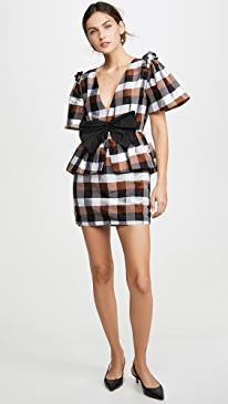 Agatha V Neck Mini Dress