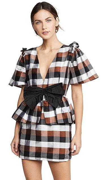 Viva Aviva Agatha V Neck Mini Dress