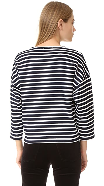 Vivetta Striped Sweatshirt