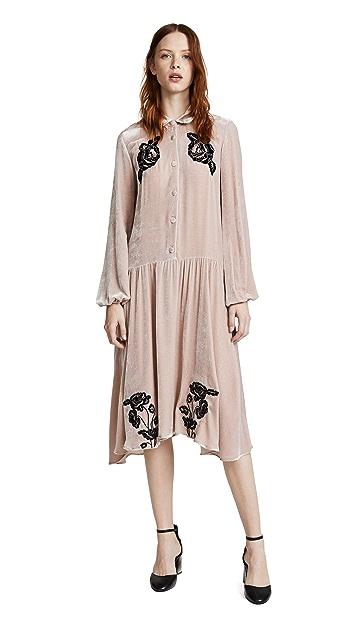 Vivetta Rhode Island Velvet Dress