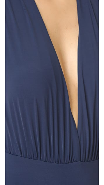 ViX Swimwear Drape Swimsuit