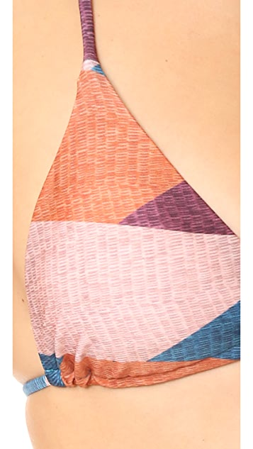 ViX Swimwear Ananda Triangle Bikini Top