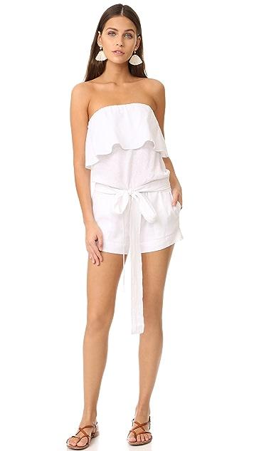 ViX Swimwear Strapless Romper