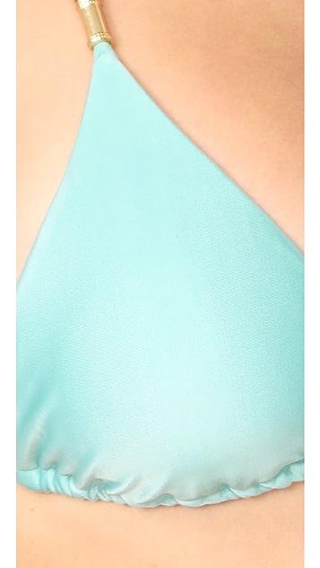 ViX Swimwear Solid Lucy Bikini Top